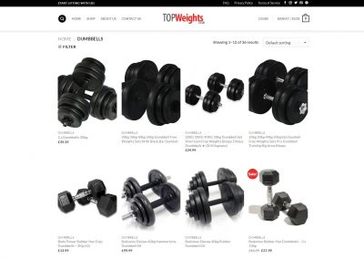 Top Weights